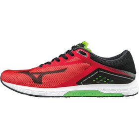 Mizuno Wave Sonic Shoes Men Formula One/Black/Green Slime